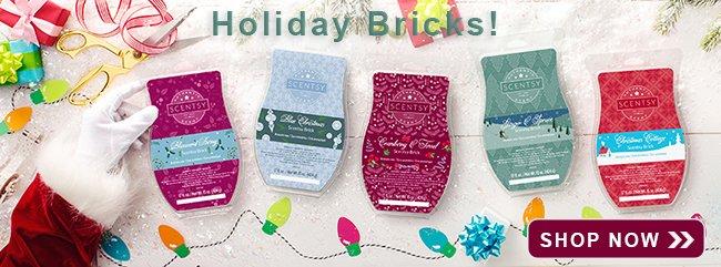 Holiday Scentsy Bricks 2018