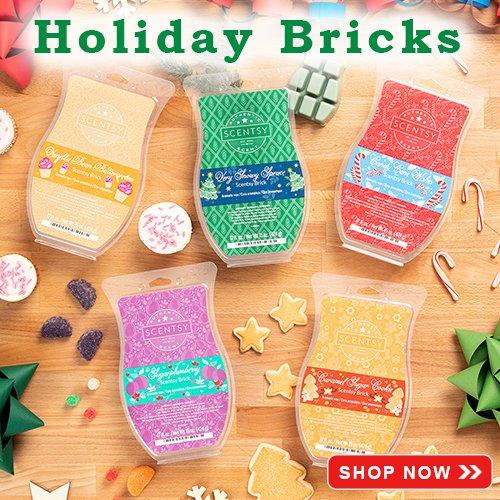 Holiday Scentsy Bricks 2019