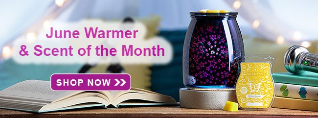 June 2020 Scentsy Warmer of the Month
