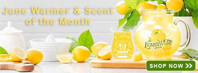 June Warmer and Scent of the Month