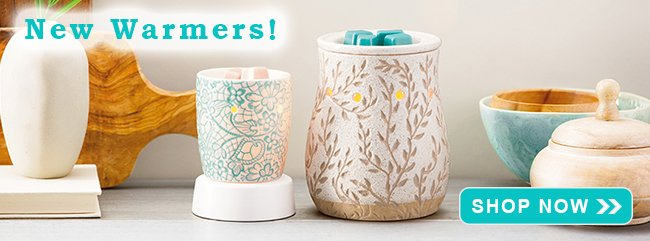 New Scentsy Warmers Spring 2019