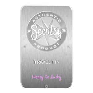 Happy Go Lucky Scentsy Travel Tin