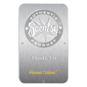 Havana Cabana Scentsy Travel Tin