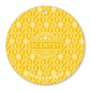 Coconut Lemongrass Scentsy Scent Circle