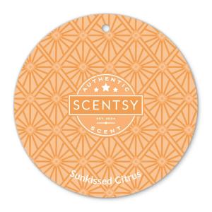 Sunkissed Citrus Scentsy Scent Circle