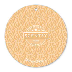 Skinny Dippin Scentsy Scent Circle