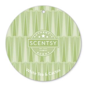 White Tea and Cactus Scentsy Scent Circle