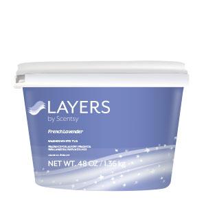 French Lavender Scentsy Washer Whiffs Tub