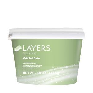 White Tea & Cactus Scentsy Washer Whiffs Tub