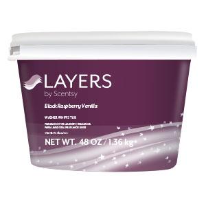 Black Raspberry Vanilla Scentsy Washer Whiffs Tub