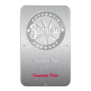 Cinnamon Bear Scentsy Travel Tin