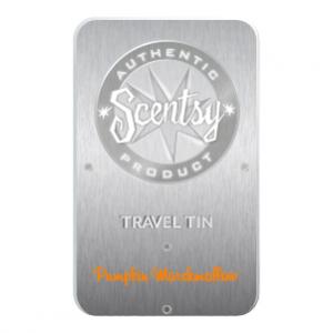 Pumpkin Marshmallow Scentsy Travel Tin