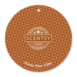 Honey Pear Cider Scentsy Scent Circle