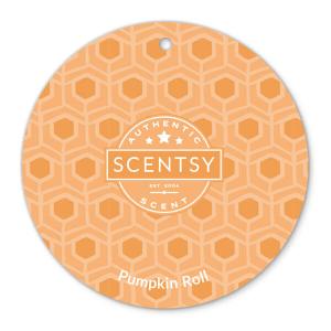 Pumpkin Roll Scentsy Scent Circle