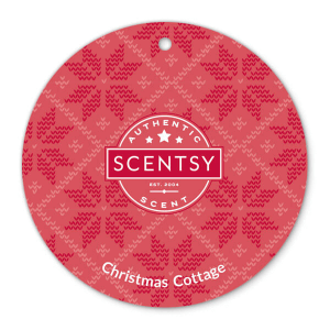 Christmas Cottage Scentsy Scent Circle
