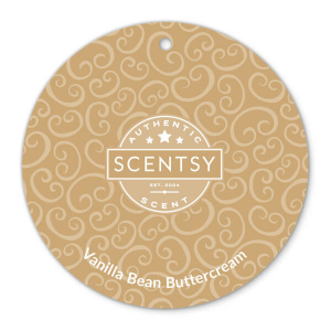 Vanilla Bean Buttercream Scentsy Scent Circle