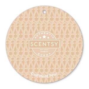 Cashmere Pear Scentsy Scent Circle