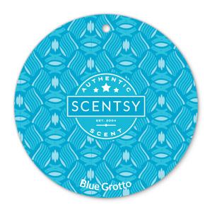 Blue Grotto Scentsy Scent Circle
