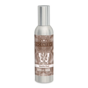 Vanilla Oud Scentsy Room Spray