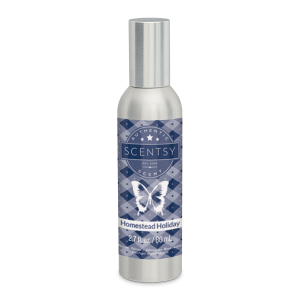 Homestead Holiday Scentsy Room Spray