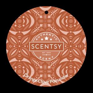 Orange Clove Pomander Scentsy Scent Circle