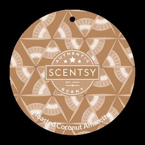 Toasted Coconut Amaretto Scentsy Scent Circle