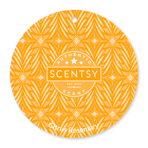 Citrus Rosemary Scentsy Scent Circle