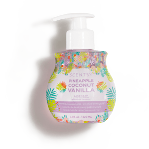 Pineapple Coconut Vanilla Scentsy Hand Soap