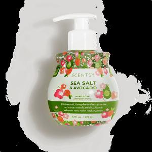 Sea Salt and Avocado Scentsy Hand Soap