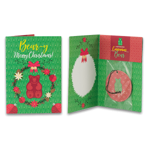 Cinnamon Bear Scentsy Holiday Greeting Cards