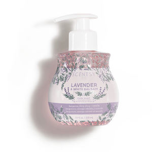Lavender and White Balsam Scentsy Hand Soap