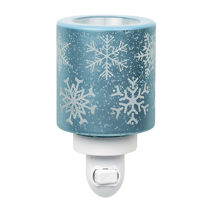 Falling Snowflakes Scentsy Mini Warmer