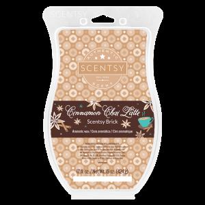 Cinnamon Chai Latte Scentsy Brick