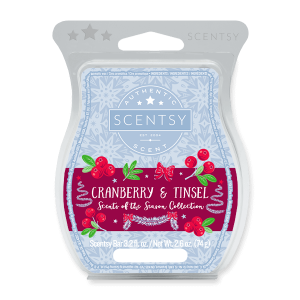 Cranberry & Tinsel Scentsy Bar
