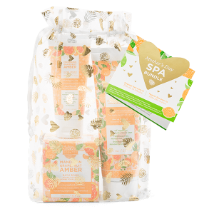 Scentsy Mother's Day Spa Bundle - Mandarin Grapefruit Amber