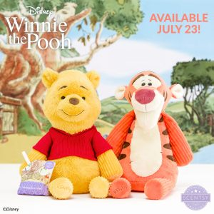 Winnie the Pooh and Tigger - Scentsy Buddies
