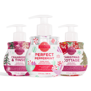 Scentsy Holiday Hand Soap Gift Bundle