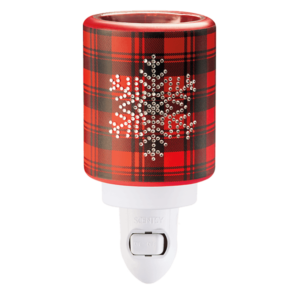Scentsy Frosted Flannel Mini Warmer