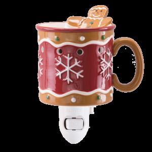 Scentsy Gingerbread Man Mini Warmer