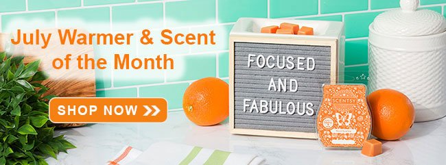 July 2020 Scentsy Warmer of the Month